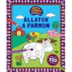 Állatok a farmon – számos kifestő, fig. 1