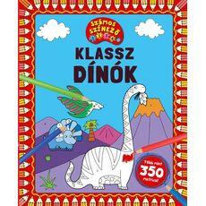 Klassz dinók – számos kifestő, fig. 1