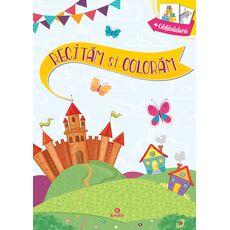 Recităm și colorăm - Mondókás kifestő a román nyelv gyakorlásához, fig. 1