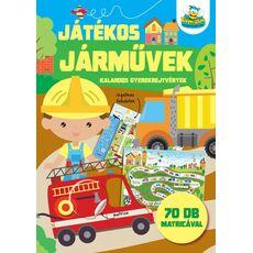 JÁTÉKOS JÁRMŰVEK - KALANDOS GYEREKREJTVÉNYEK, fig. 1