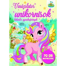 VARÁZSLATOS UNIKORNISOK - KALANDOS GYEREKREJTVÉNYEK, fig. 1